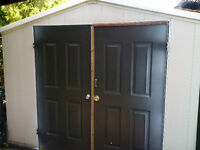 Vinyl shed in great condition