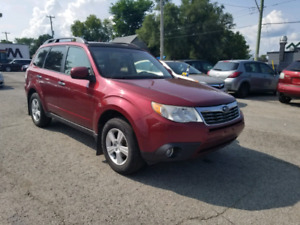 2010 SUBARU FORESTER  2.5X PREMIUM SAFETY AND E-TESTED