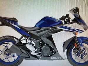 WANTED TO PURCHASE: NEW/USED BLUE YZF-R3 YAHAMA MOTORCYCLE