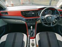 2018 Volkswagen POLO HATCHBACK 1.0 TSI 95 Beats 5dr DSG Auto Hatchback Petrol Au