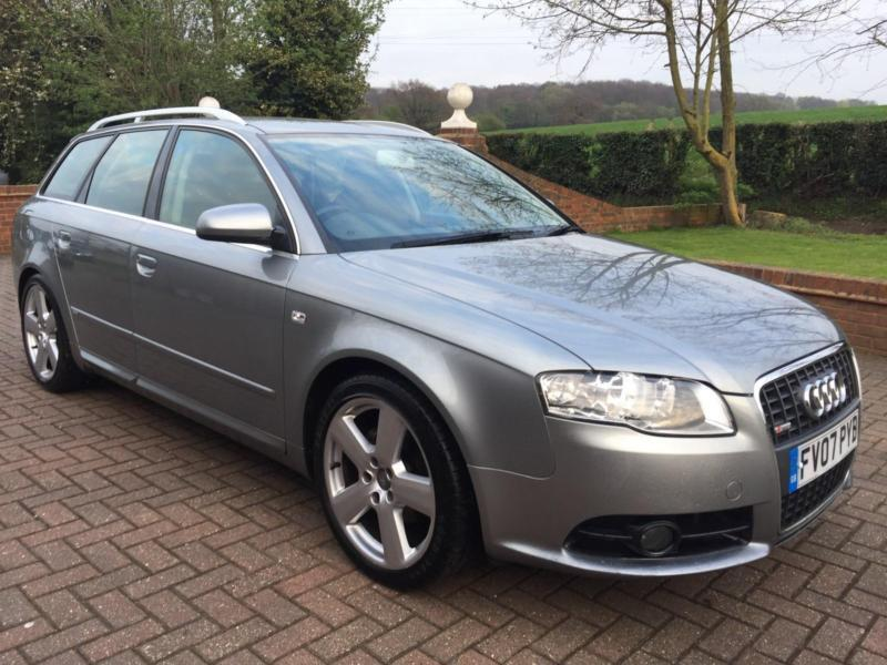 audi a4 avant 2 0 tdi s line auto 5dr 2007 07 in swanley. Black Bedroom Furniture Sets. Home Design Ideas