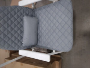 Brand new fold-able patio/in/out door chairs with cushions