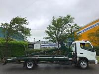 2009 /59 Mitsubishi Canter 7C18 7.5T Twin Deck Transporter Low Miles DRW