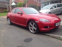 Mazda rx8 192 mot,d, ready to drive away