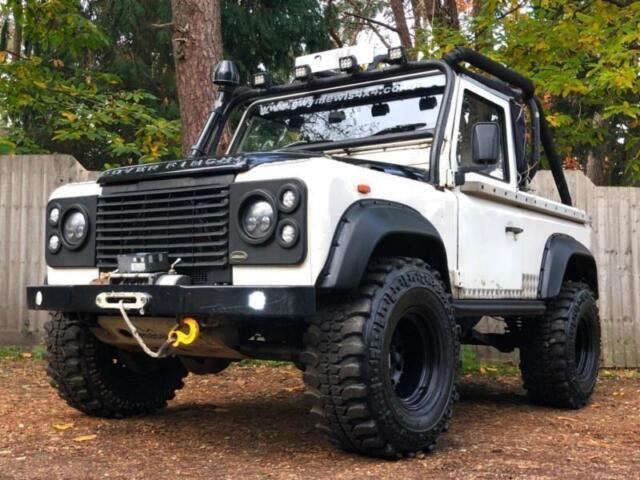 LAND ROVER DEFENDER 90 PICK UP, CONVERTIBLE 4X4 OFF ROAD PX SWAP | in  Ringwood, Hampshire | Gumtree