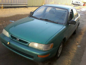97 Toyota Corolla Sedan  Runs/Drives Excellent!! W/Remote Start!