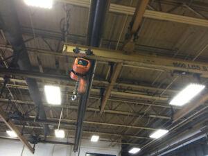 2 Overhead Crane Hoists