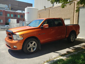 2010 Dodge Ram 1500 - Orange with a hemi!!