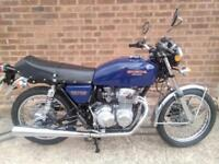 Honda 400 four 1976 UK bike in great condition runs and rides fine light classic