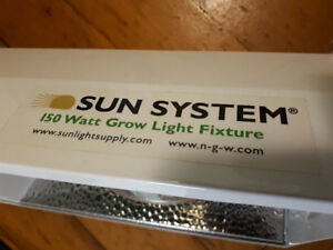 150watt Sun System Grow Light incl.  HPS bulb included