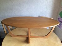 Retro coffee table, G Plan style, Mid Century Modern