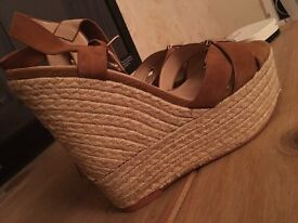 Women's wedges size 5