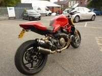 Ducati Monster 1200S Red 14/64 VGC FSH 9434miles Termignoni Cans