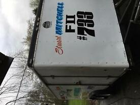 15FT AMERICAN RACE TRAILER ENCLOSED CAR TRAILER TRANSPORTER TOW A VAN BOX