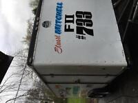 15FT AMERICAN RACE TRAILER ENCLOSED CAR TRAILER TRANSPORTER TOW A VAN BOX
