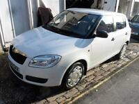 Skoda Fabia Level 1 Htp 5dr low mileage 37000miles PETROL MANUAL 2010/59