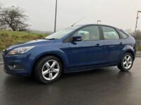 Ford Focus 1.6TDCi Zetec £30 ROAD TAX SAT NAV BLUETOOTH DVD FULL SERVICE HISTORY