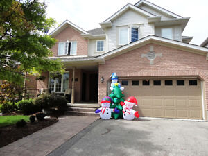 Brand New Gemmy Airblown Inflatable 8 Foot Tall Snowman & Tree Kitchener / Waterloo Kitchener Area image 2