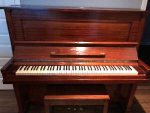 Piano L.E.N. Pratte Montreal 1909