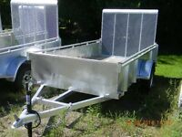 5x10 Galvanised Utility Trailer