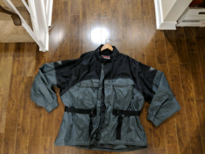 FirstGear Mens Motorcycle Rainsuit and booties