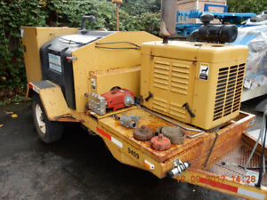 2003 O'Brien Model 3518 4000 PSI 18 GPM 65 HP SEWER JETTER
