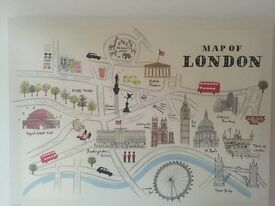Map of London picture