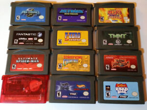 GBA Games (Metroid, Donkey Kong, TMNT, and more)  and GBA SP