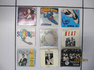 Vintage Lot Of 9 3inch CD's various artists Rare Find Circa 1988