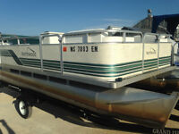 1998 Northwood 18ft pontoon