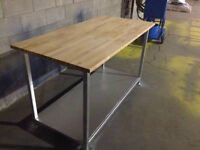 very heavy duty work bench for sale !!!!!!!