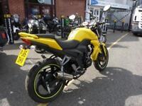 Sym Wolf 125cc Yellow 15/15reg VGC FSH