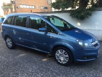 2008 VAUXHALL ZAFIRA 1.8 DESIGN 7 SEATER EXCELLENT PX