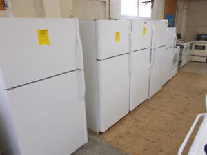 Fridges. Large selection. 90 day warranty.