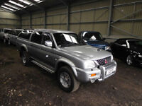 2003 Mitsubishi L200 2.5 TD Ltd ( lth ) Warrior
