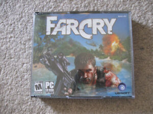 Far Cry PC CD Rom 5 disc game-Superb condition