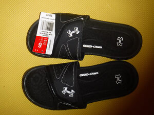 New under armor sandals