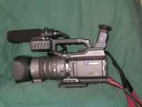 Professional Video Camera and Editing Suite