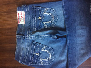 Brand New TRUE RELIGION Straight-cut Jeans