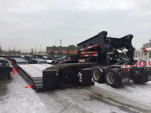 2018 Gerry's 55ton Hydraulic Neck Lowbed