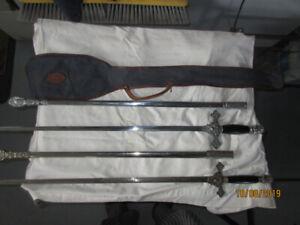 Knights of Columbus VINTAGE  SWORDS ( 2)