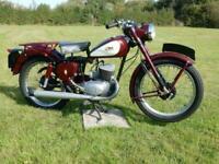 BSA Bantam MAJOR D3 123cc 1957 - VERY PRETTY BIKE Please watch the video