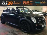 2005 MINI CONVERTIBLE 1.6 COOPER S SERVICE HISTORY FINISHED IN METALLIC JAVA BLA