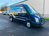 Ford Transit Lwb High Roof Day Van 09 Reg Very Clean No Vat Px Welcome Ayrshire