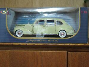 PACKARD LIMOUSINE 1957 CORVETTE VW VAN 1967 CAMARO