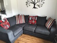 4 Seater fabric Corner Sofa