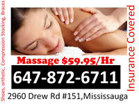 Massage Improve Your Health, It is paid by your health insurance