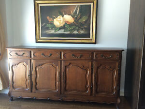 French Louis XV Style Antique Buffet