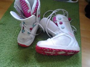 Kids girls snowboard boots