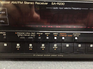 Technics SA-R230 AM/FM Stereo Receiver London Ontario image 4